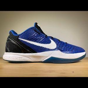 Nike Zoom Kobe 6 'Duke' Royal 429659-400 Size 10